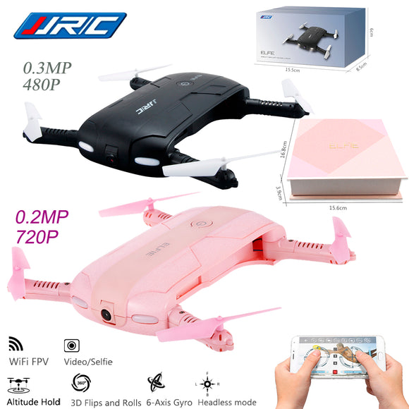 JJRC ELFIE - Mobile-Controlled Selfie Drone, Electronics - Planet Moonbow