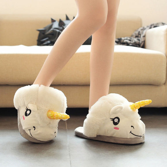 Kids Unicorn Slippers, Slippers - Planet Moonbow
