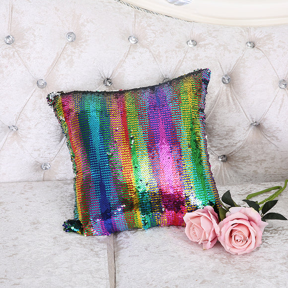Magical Mermaid Reversible Sequin Cushion Covers, Home Decor - Planet Moonbow