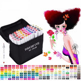 TOUCHFIVE® Animation Design Copic Marker Sets, Stationary - Planet Moonbow