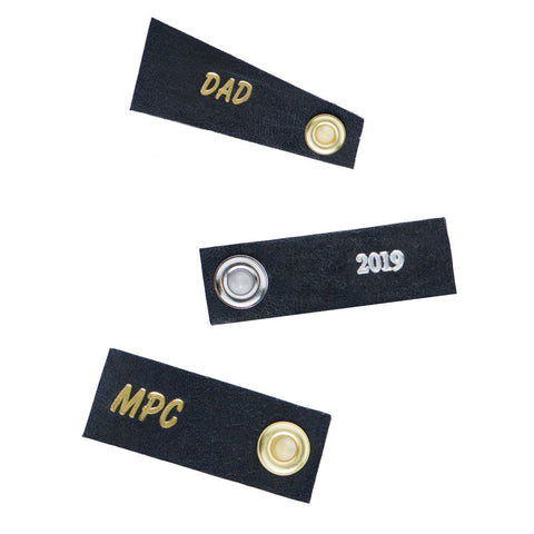 Custom Embossed Tags
