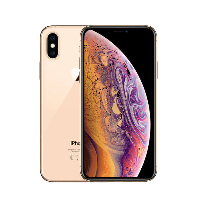 "Apple IPhone Xs – 5.8"" - 4G - 64Go - RAM 4Go - 12Mpx - ID Face – Or Reconditionné - Garantie 12 Mois"