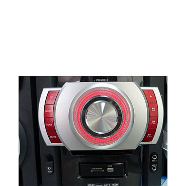 Mini Chaine HI-FI Avec Enceintes Hautes Performances - FM Radio DVD/KARAOKE/USB/SD Card/MP3 - STH- SMART TECHNOLOGY - 88000 - Noir