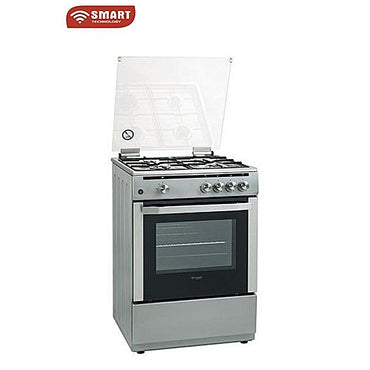 Gazinière Smart STC-6060I – SMART TECHNOLOGY - 4 Têtes Inox