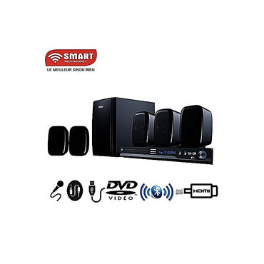 SMART TECHNOLOGY Home Cinéma STH-5211- 245 Watts - Karaoké Port Usb / HDMI / Bluetooth