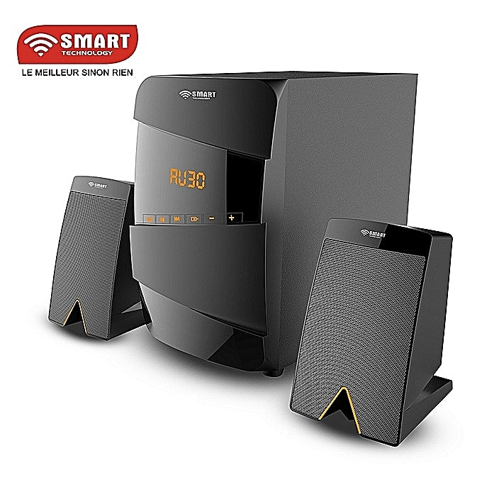 SMART TECHNOLOGY Système Audio Avec Haut-parleur Multimédia FM Radio /USB/SD Card/MP3 - STHB-4228M - Noir