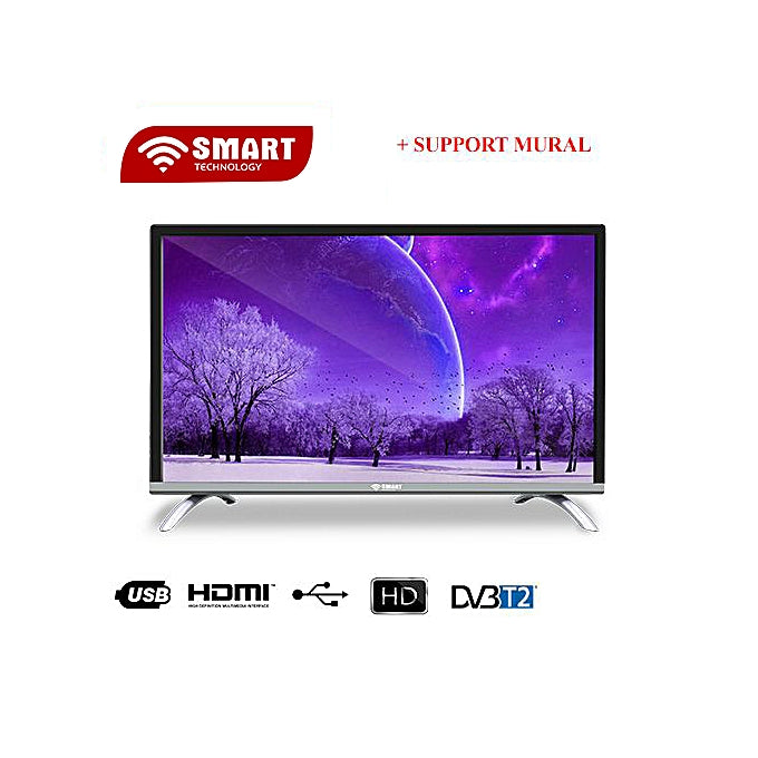 Smart Technology 24'' HD LED  + SUPPORT