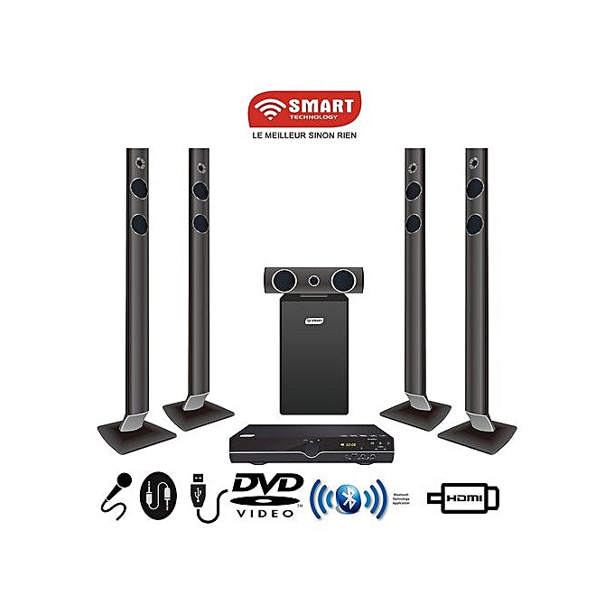 SMART TECHNOLOGY Home Cinéma STH-9778 - Noir