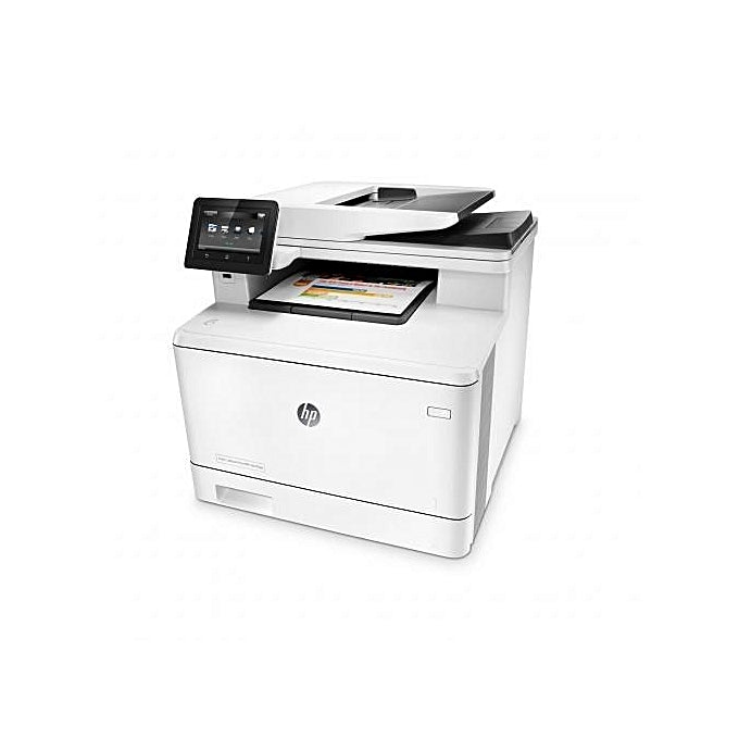 HP Imprimante Color LaserJet M477fdw Multifonction - Blanc