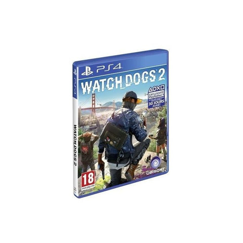 Sony PlayStation Watch Dogs 2 - PS4 - Multicolore