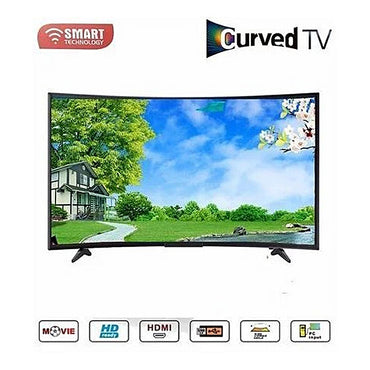 TV Led Incurvée HD- SMART TECHNOLOGIE  Hdmi/ Usb- 39 Pouces