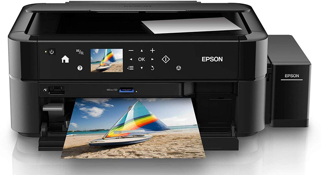 Epson L850 Imprimante multifonctions couleur jet d'encre 216 x 297 mm (original) A4-Legal (support)