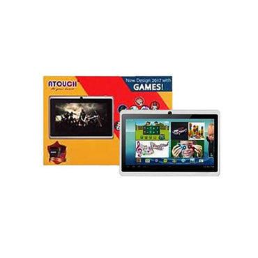 Atouch Tablette Educative - 7 Pouces - 1 Go Ram - 8Go Rom - Android - Multicolore
