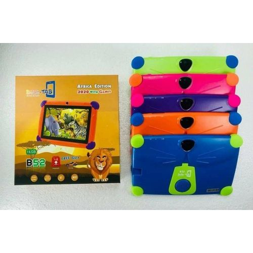 BEBE TAB Tablette Educative B52 - 1Go Ram - 16Go Rom - Multicolore