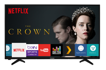 "HISENSE SMART TV LED 39"" - WI-FI/HDMI/USB"