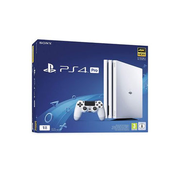 Sony PlayStation Playstation 4 Pro 1TB- 2 Manette - PS4 Pro - Blanc