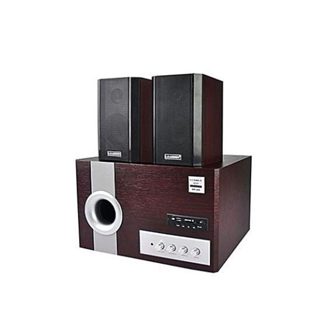 Leadder Haut Parleur Multimédia Bluetooth LEADER CH 3.1 SP-22R. Marron/SP-22B