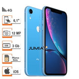 "Apple IPhone XR- 6.1""-3Go RAM- 64 Go ROM- IOS 12- 12 Mpx- 4G -Reconditionné- Garantie 1 Mois"
