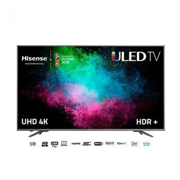 Hisense - TV LED Ultra HD 4K - H55M3300 – Wi-Fi – 2xUSB – 2xHDMI – Port RJ45 – Noir
