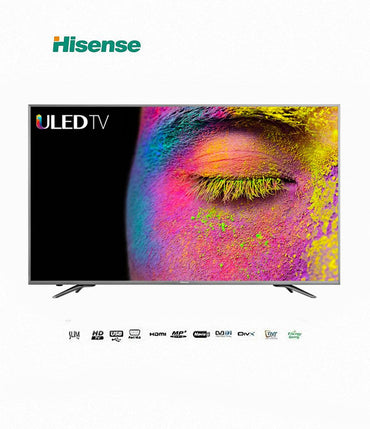 TV LED HISENSE 75″ – Ultra HD 4K- Wi-Fi – HDMI – USB – Port RJ45 (Ethernet)- Garantie 12 mois
