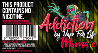 Addiction 30ml Flavours.