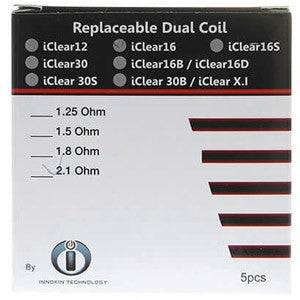 iclear16 dual coils