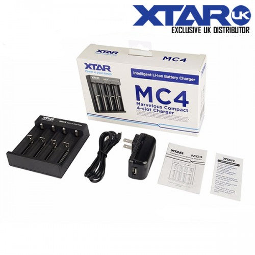 Xtar MC4 (4 Bay Charger)