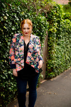 Neon Jungle Lapel Blazer