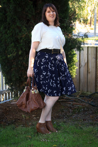 Swift Panel A-line Skirt