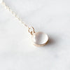Balance Laureat Necklace 14K Gold Fill with Moonstone
