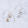lit wire earrings