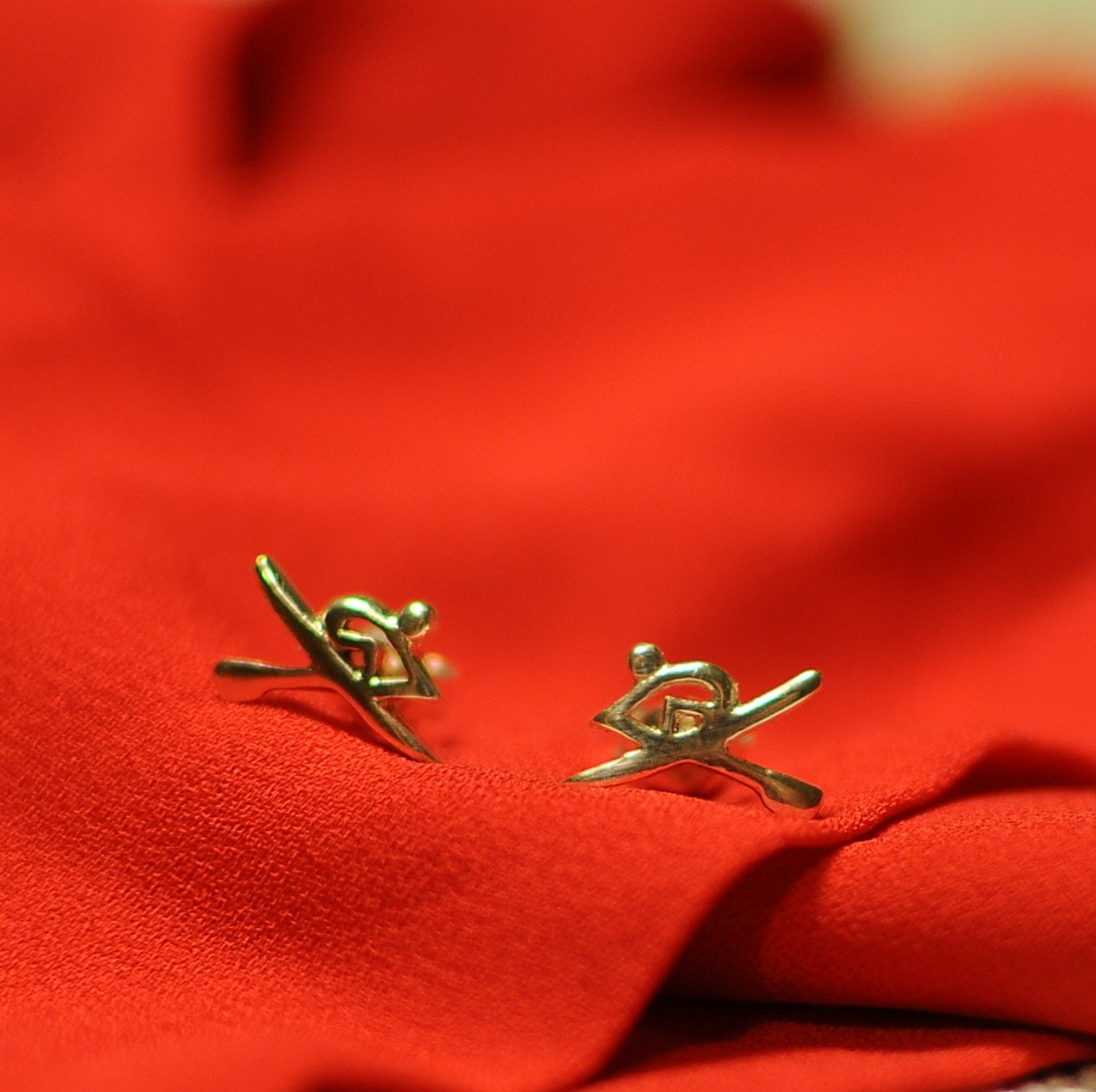 rowing earrings- rowing gifts ideas- rowing jewellery australia