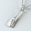 rowing jewellery engraved pendant oar rowing gift strokeside designs