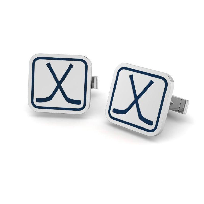 Ice Hockey Cufflinks ( Pre-Order ends 10/11)