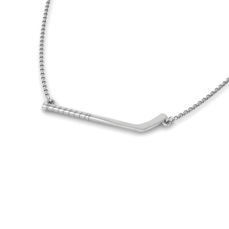 Ice Hockey Stick Necklace ( Pre-Order ends 10/11)