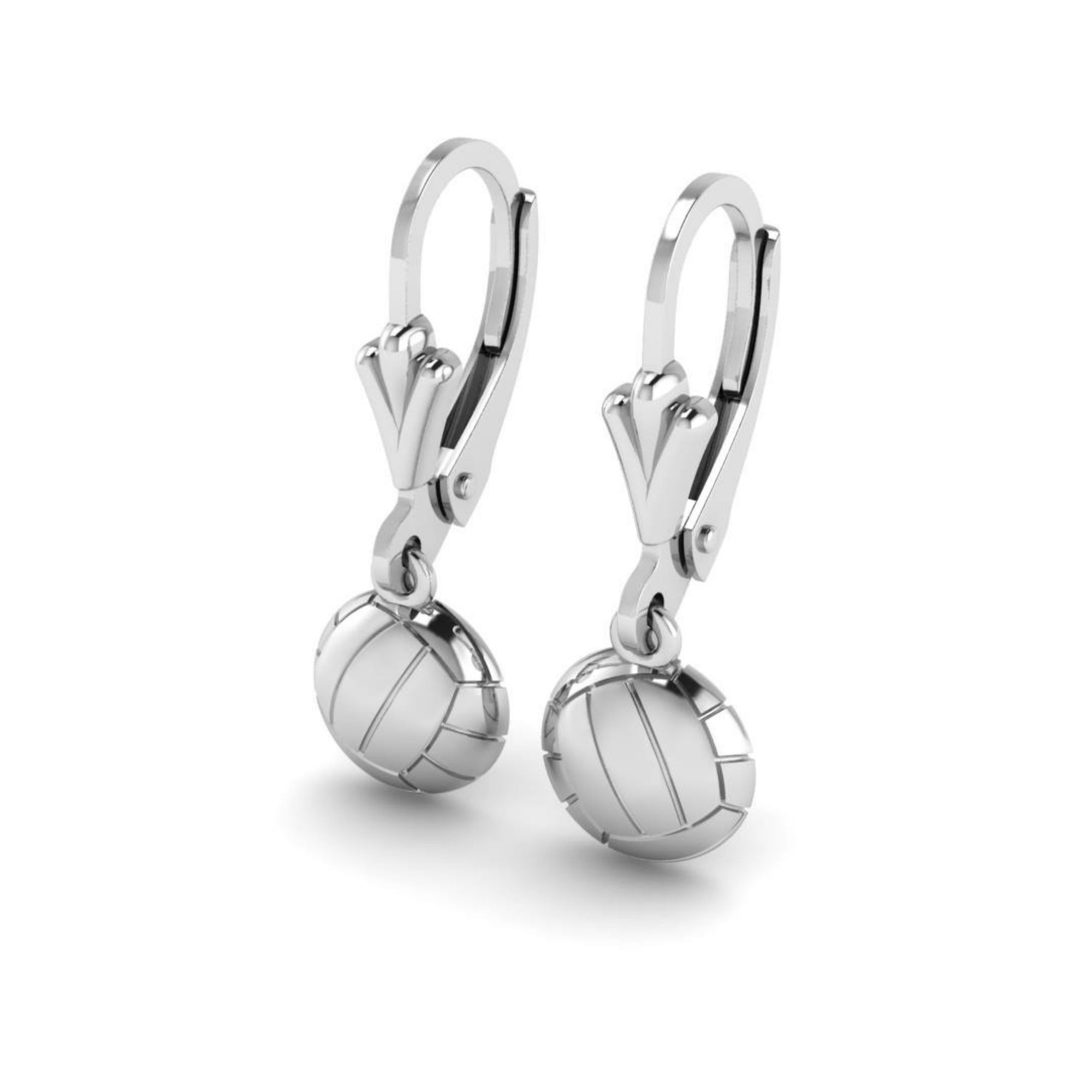 Netball Hanging  Earrings