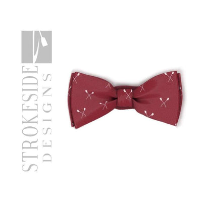 Rowing Bowtie Red Rowing Clothing Strokeside Designs