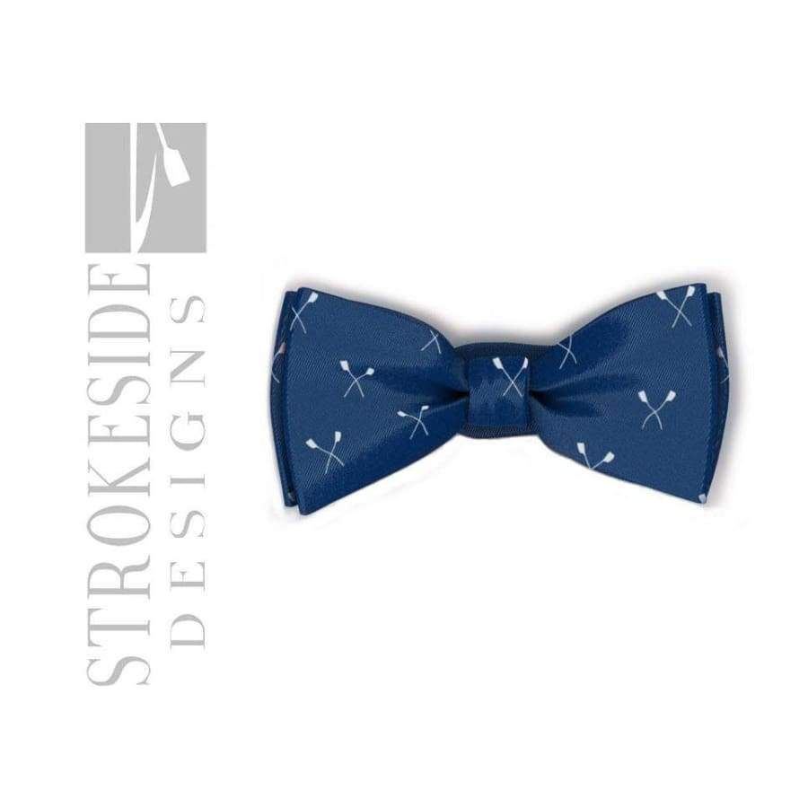 Rowing Bowtie Blue Crossed Oars Rowing Clothing