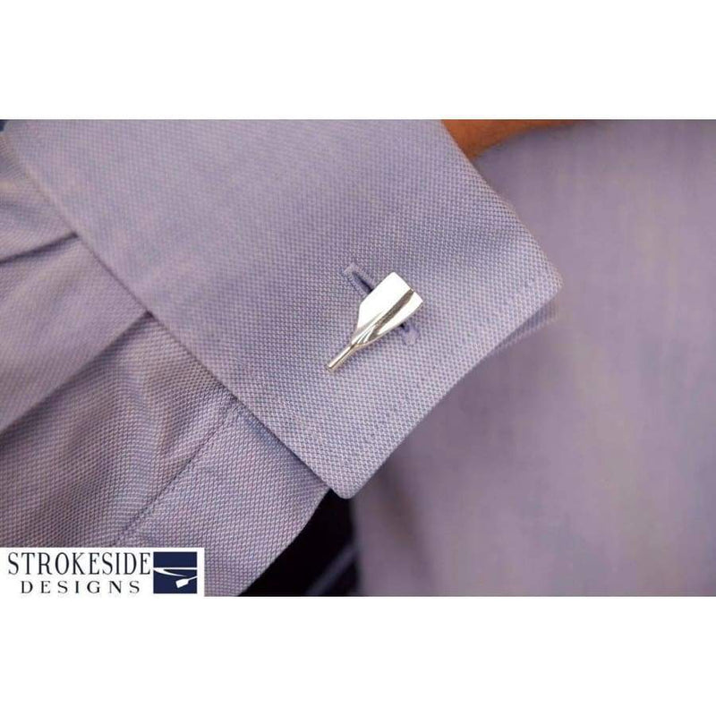 Silver Oar Rowing Cufflinks