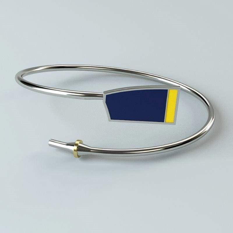 Rowing Custom Bent Oar Bracelet - Strokeside AU