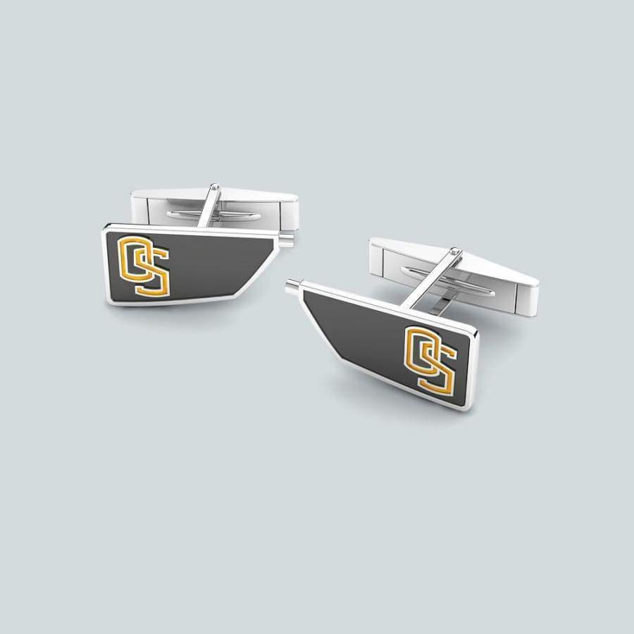Rowing Custom Oar Cuff Links - Strokeside AU