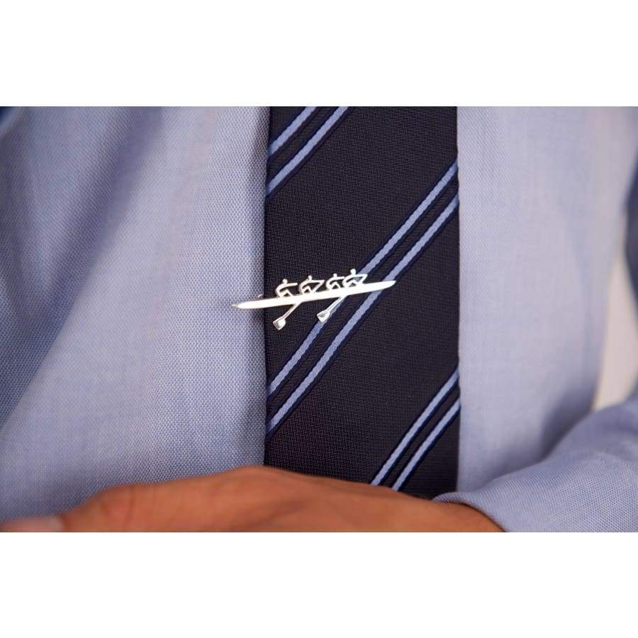 Rowing Four Tie Tack - Strokeside AU