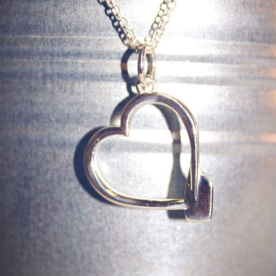 rowing heart necklace rowing jewellery rowing pendant