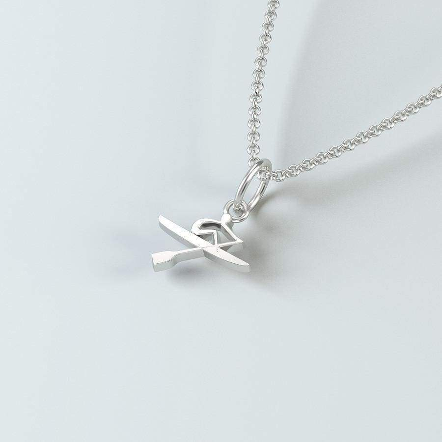 Rowing Jewelry: Oarsman Pendant