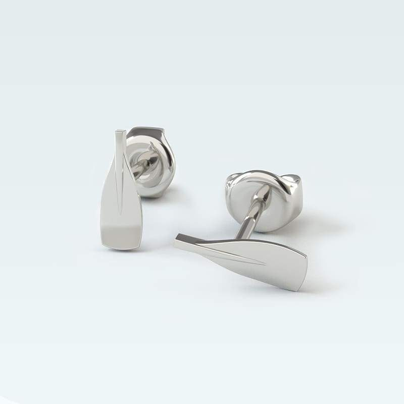 Rowing Small Blade Earrings - Strokeside AU