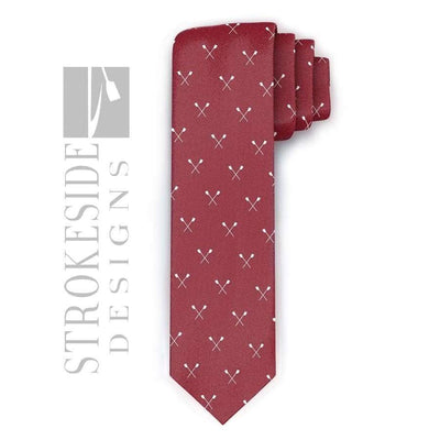 Rowing Tie -Rowing Gifts Strokeside Designs