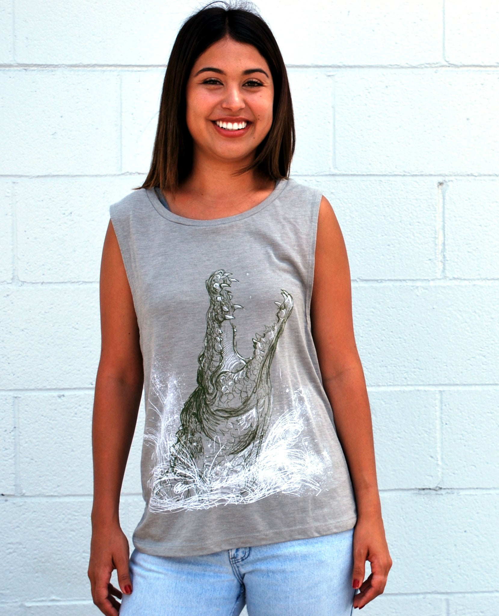 Women's Crocodile Tank