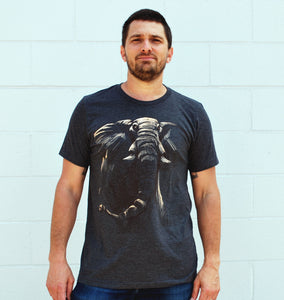 Men's Elephant Tee - David's Doodles