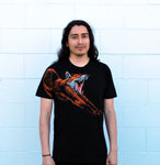 Men's Fox Tee - David's Doodles