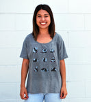 Women's Panda Tee - David's Doodles